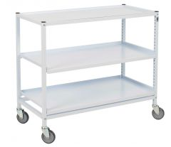Classic Wide Shelved Hospital Trolley